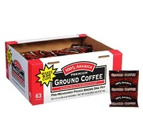 100% Arabica Premium Ground Coffee - 63/1.5oz