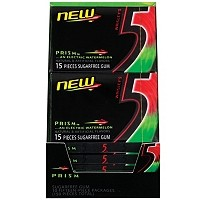5™ Prism™ Electric Watermelon Sugarfree Gum - 10/15 piece pks.