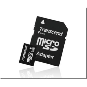 1 Gb Micro Sd Card With Sd Adapter Case Pack 10