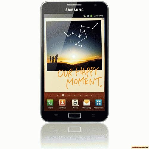 Samsung Galaxy Note GSM Cell Phone, Black (Unlocked)
