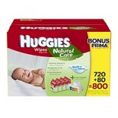 Huggies Natural toallitas Baby Care, 800 ct.