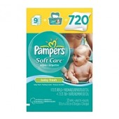 Pampers Baby Wipes fresco, 720 ct.
