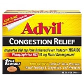 Advil ® Alivio a la Congestión - 40 ct.