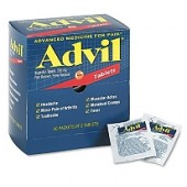 Advil Ibuprofeno Paquetes Tabletas - 50 pks. de 2 ct.