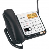 2-Line DECT 6.0 Corded/Cordless Phone with Caller ID and ITAD