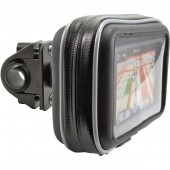 Bicycle/Motorcycle Handle-Bar Mount with Water-Resistant GPS Holder