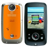 5MP WP HD Dig Camcorder-Orange