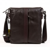 Byarms Men's Leisure Leather Shoulder Messenger Bag