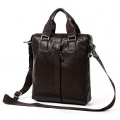 Byarms Men's Casual Leather Shoulder Bag