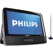 """Philips - 9"""" Class / Portable LCD TV"""
